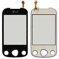 Тачскрин (сенсор) LG C330 | Оригинал | черный
