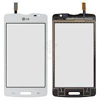 Тачскрин (сенсор) LG D373 Optimus L80 Blanco | Оригинал | белый