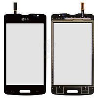 Тачскрин (сенсор) LG D373 Optimus L80 Blanco | Оригинал | черный