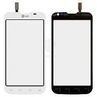 Тачскрин (сенсор) LG D410 Optimus L90 Dual Sim   Оригинал   белый