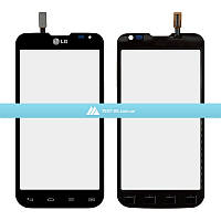 Тачскрин (сенсор) LG D410 Optimus L90 Dual Sim   Оригинал   черный