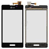 Тачскрин (сенсор) LG E450 Optimus L5x | Оригинал | E460 Optimus L5 | Оригинал | черный