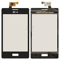 Тачскрин (сенсор) LG E610 Optimus L5 | Оригинал | E612 Optimus L5 | Оригинал | черный