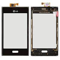 Тачскрин (сенсор) LG E610 Optimus L5 | Оригинал | E612 Optimus L5 | Оригинал | с рамкой | Оригинал | черный