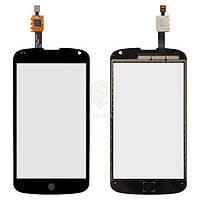 Тачскрин (сенсор) LG E960 Nexus 4 | черный