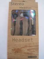 Вакуумные наушники для телефона и плеера Stereo Headset