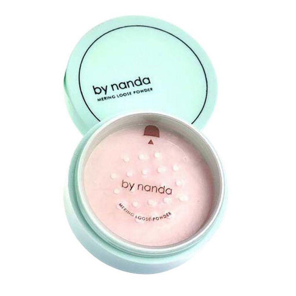Минеральная мелкодисперсная пудра-вуаль Nanda Mering loose powder #802 Natural Color