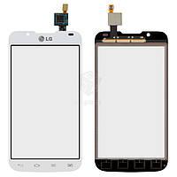 Тачскрин (сенсор) LG P715 Optimus L7 II | белый