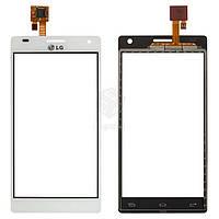 Тачскрин (сенсор) LG P880 Optimus 4X HD | Оригинал | белый