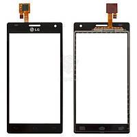 Тачскрин (сенсор) LG P880 Optimus 4X HD | Оригинал | черный