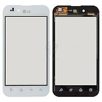 Тачскрин (сенсор) LG P970 Optimus Black   Оригинал   белый