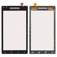 Тачскрин (сенсор) Motorola A853 Qrty | A855 Droid | XT702 Milestone | черный
