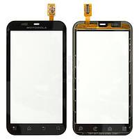 Тачскрин (сенсор) Motorola MB525 Defy | MB526 Defy Plus | черный