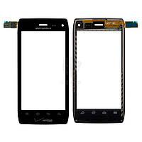 Тачскрин (сенсор) Motorola XT894 Droid 4 | черный
