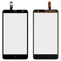 Тачскрин (сенсор) Nokia 1320 Lumia | Оригинал | черный