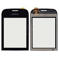 Тачскрин (сенсор) Nokia 202 Asha | Оригинал | черный