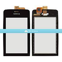 Тачскрин (сенсор) Nokia Asha 308 | Оригинал | Asha 309 | Оригинал | Asha 310 | Оригинал | черный