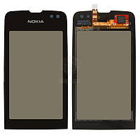 Тачскрин (сенсор) Nokia 311 Asha | Оригинал | черный