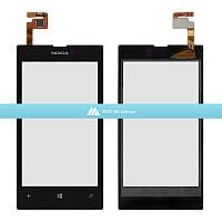 Тачскрин (сенсор) Nokia Lumia 520 | Lumia 525 | Оригинал | Черный