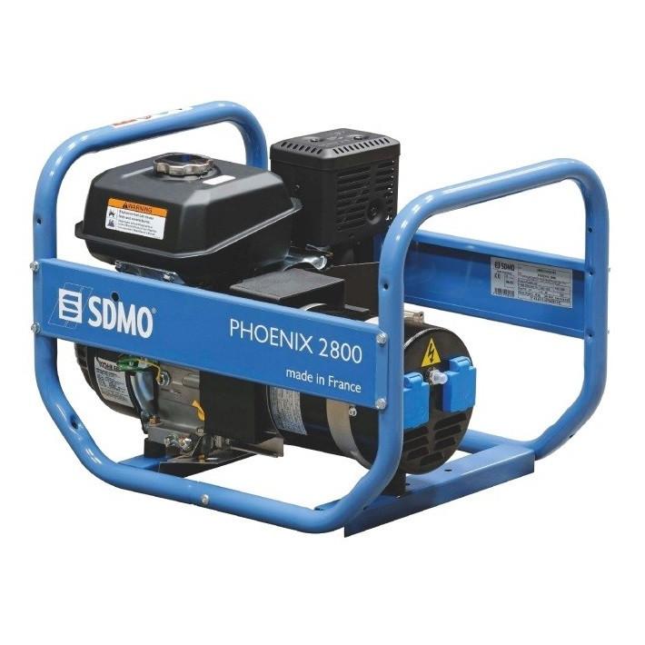Генератор бензиновый SDMO Phoenix 2800 (3кВт)