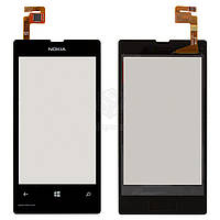 Тачскрин (сенсор) Nokia 521 Lumia | Оригинал | черный
