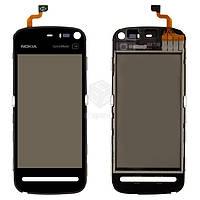 Тачскрин (сенсор) Nokia 5800 | Оригинал | черный