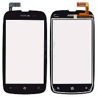 Тачскрин (сенсор) Nokia 610 Lumia | Оригинал | черный