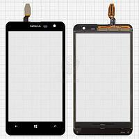 Тачскрин (сенсор) Nokia 625 Lumia | Оригинал | черный