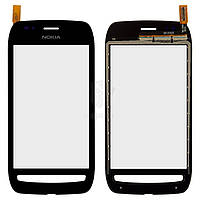 Тачскрин (сенсор) Nokia 710 Lumia | Оригинал | черный