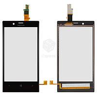 Тачскрин (сенсор) Nokia 720 Lumia | Оригинал | черный
