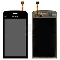 Тачскрин (сенсор) Nokia C5-03 | Оригинал | C5-06 | Оригинал | черный