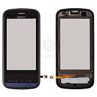 Тачскрин (сенсор) Nokia C6-00 | Оригинал | с рамкой | Оригинал | черный