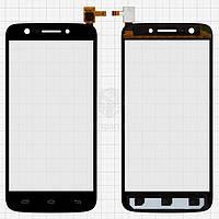 Тачскрин (сенсор) Prestigio MultiPhone 5508 Duo | Оригинал | черный