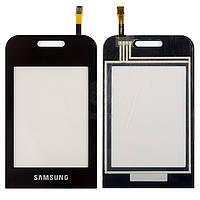 Тачскрин (сенсор) Samsung E2652 | E2652W | черный