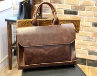 Мужская кожаная сумка. Модель 61269, фото 5