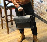 Мужская кожаная сумка. Модель 61269, фото 8
