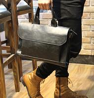 Мужская кожаная сумка. Модель 61269, фото 9