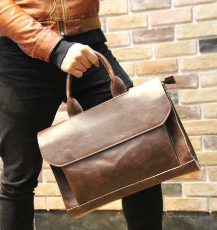 Чоловіча шкіряна сумка. Модель 61269
