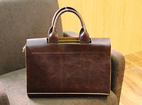 Мужская кожаная сумка. Модель 61269, фото 6