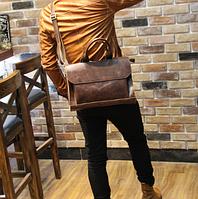 Мужская кожаная сумка. Модель 61269, фото 2