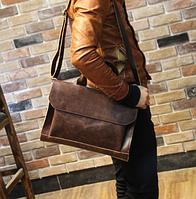Мужская кожаная сумка. Модель 61269, фото 4