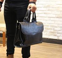 Мужская кожаная сумка. Модель 61269, фото 10