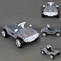 Машина педальная детская Орион 792 серая