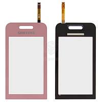 Тачскрин (сенсор) Samsung S5230 Star | Оригинал | розовый