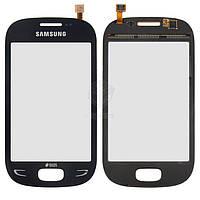 Тачскрин (сенсор) Samsung S5292 | Оригинал | синий