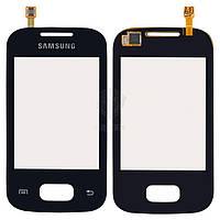 Тачскрин (сенсор) Samsung S5300 Pocket | Оригинал | S5302 Pocket Duos | Оригинал | черный