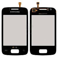Тачскрин (сенсор) Samsung S6102 Galaxy Y Duos | Оригинал | черный