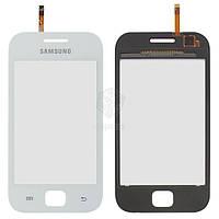 Тачскрин (сенсор) Samsung S6352 | S6802 | белый