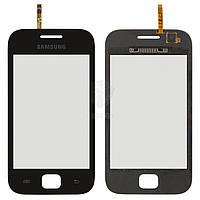 Тачскрин (сенсор) Samsung S6352 | S6802 | черный