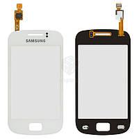 Тачскрин (сенсор) Samsung S6500 Galaxy Mini 2 | Оригинал | белый